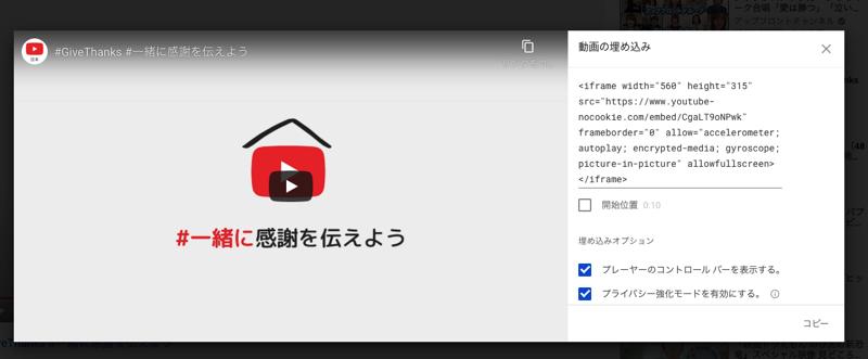ワードプレスYouTubeプライバシー強化